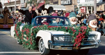 Walt Disney as Rose Parade Grand Marshall - 1966