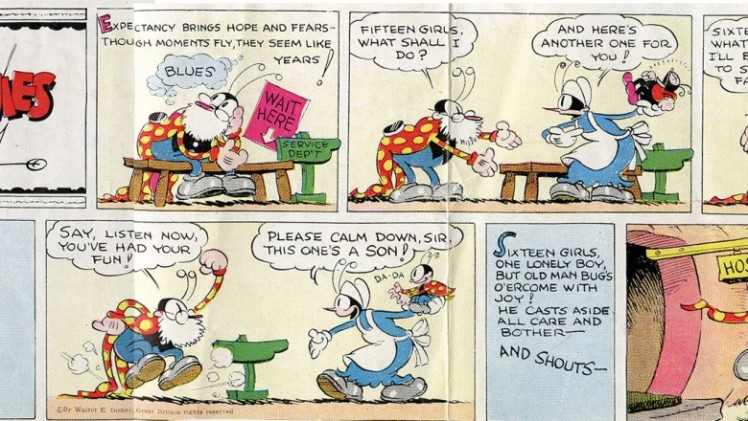 First Silly Symphonies Color Comic Page (1932)
