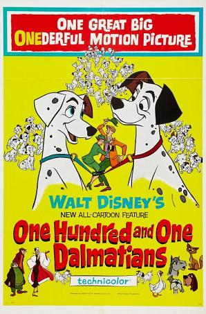 Disney 101 Dalmations - 1961