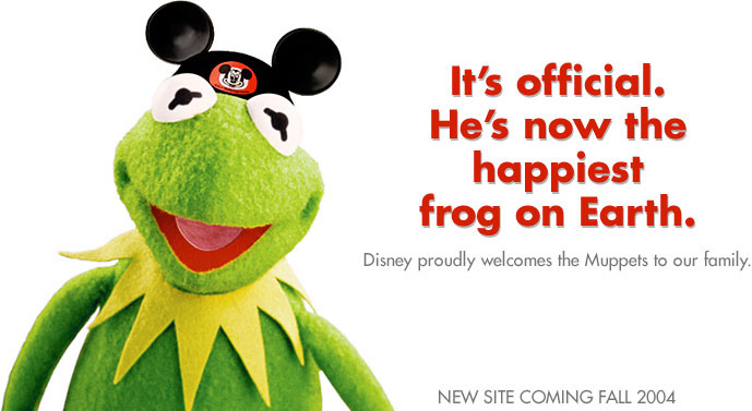 Disney Acquires Muppets - 2004