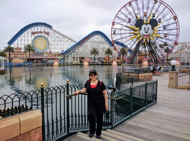 Amy Ruiz at Disney California Adventure Park - June 2016
