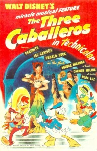Disney The Three Caballeros 1945