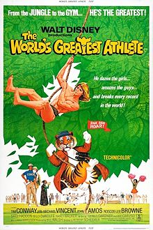 Disney The World's Greatest Athlete - 1973