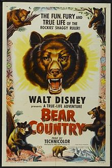 Disney True-Life Bear Country 1953
