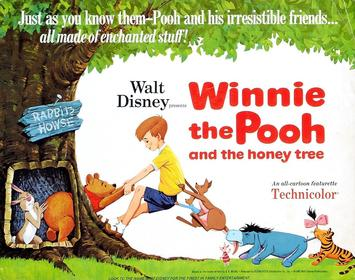 Disney Winnie the Pooh and the honey tree - 1966