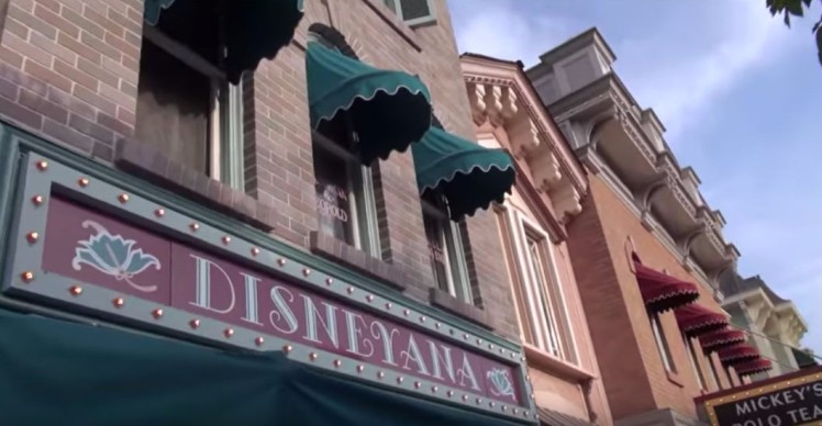 Disneyana Shop, Main Street Disneyland