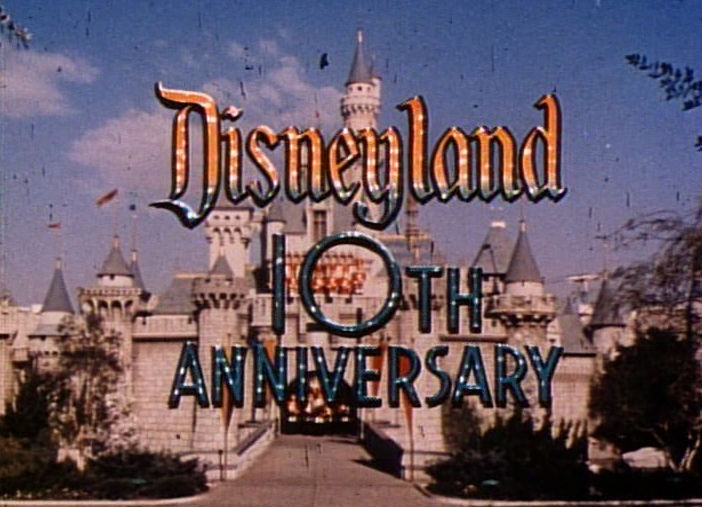 Disneyland's 10th Anniversary TV special 1964