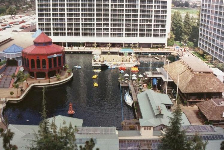 Disneyland Hotel Marina, circa 1982