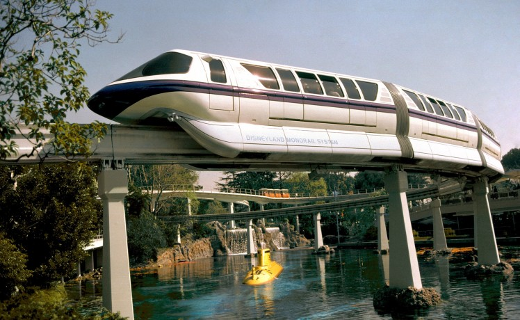Disneyland Monorail Mark V 1987