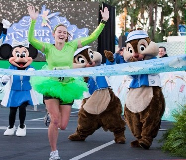 Tinkerbell Half Marathon Disneyland Resort 2012