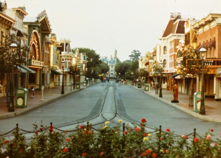 Main Street Disneyland - Circa 1983