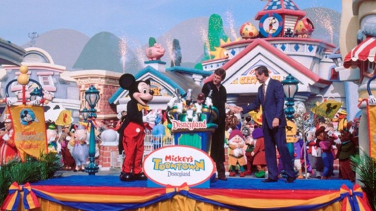 Mickey's Toontown Grand Opening Ceremony - January 24, 1993