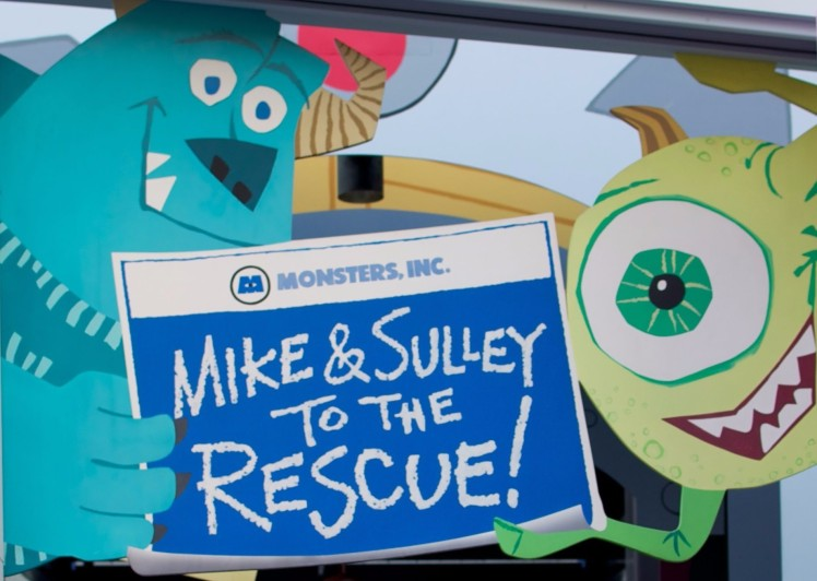 Monsters, Inc. Mike & Sulley to the Rescue! - Disney California Adventure