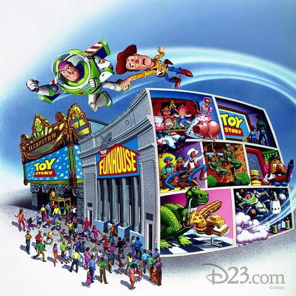 Toy Story Funhouse - D23