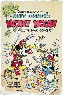 Disney's Mickey Mouse Cartoon - The Band Concert - 1935