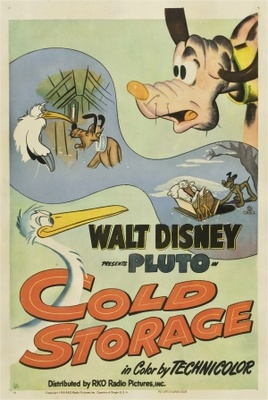 Disney Pluto Cartoon - Cold Storage - 1951