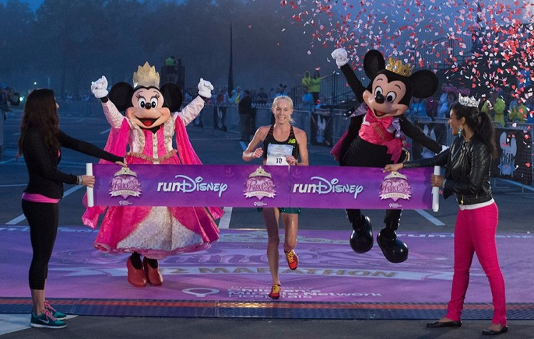 Disney Princess Half Marathon Walt Disney World 2014