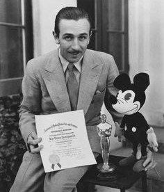 Walt Disney - Mickey Mouse Academy Award