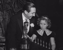 Walt Disney - Shirley Temple - 1939 Oscars Academy Awards