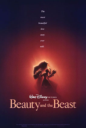 Disney Beauty and the Beast - 1991