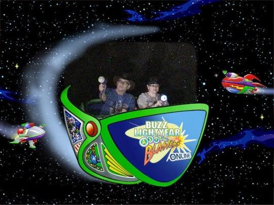 Buzz Lightyear Astro Blasters Disneyland