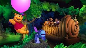 The Many Adventures of Winnie the Pooh Ride Disneyland