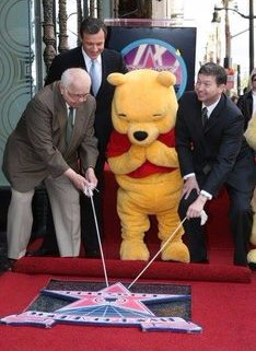 Winnie the Pooh Hollywood Walk of Fame 2006