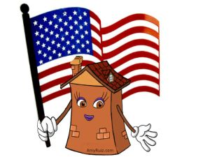 Casita - American Flag - Amy Ruiz & Associates