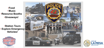 La Mesa Police and Fire Safety Fair 2018